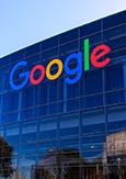 Photo du siège social de Google à Mountain View, en Californie