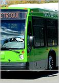 Photo d'un autobus Nova Bus 100% électrique
