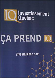Image indiquant Investissement Québec: Ça prend IQ