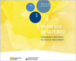 The title Taxation in Québec