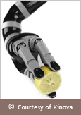 Photo of JACO, a robotic manipulator arm created by Kinova. Courtesy of Kinova.