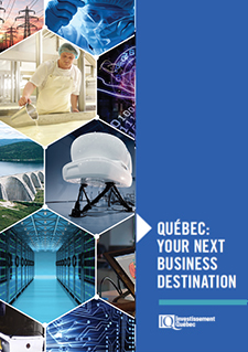Tittle indicating Québec : Your Next Business Destination