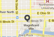 Google map showing the Chicago office.