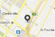 Google map showing the Montréal office.