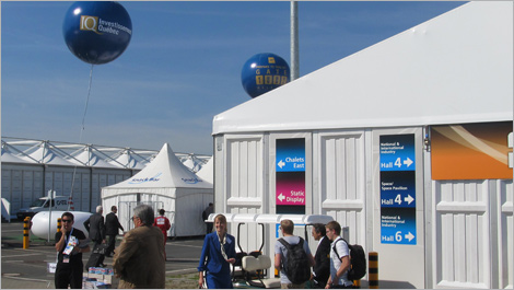 Photo taken on the grounds of ILA Berlin Air Show 2014