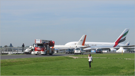 Photo of an aircraft taken outside ILA Berlin Air Show 2014