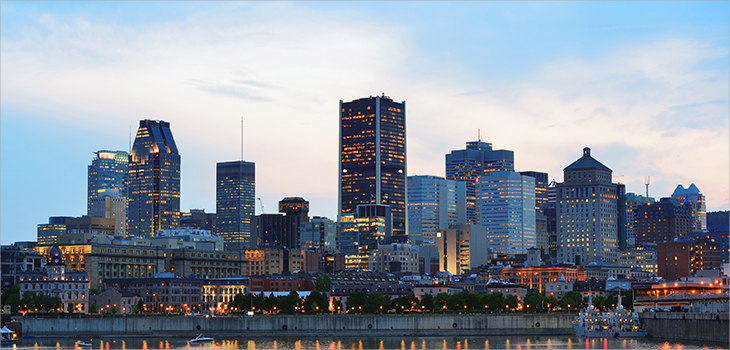 Photo de la ville de Montréal