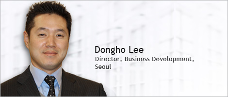 Picture of Dongho Lee. Director, Business Development, Seoul