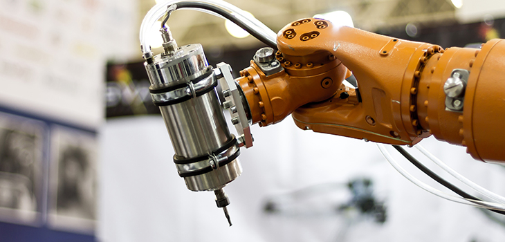 Photo of a robotic arm