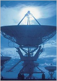 Satellite dishes telecommunication