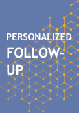 "Illustration with a taxt indicating ""Personalized Follow-up"""