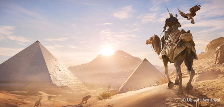 Cover of game Assassin's Creed Origins by Ubisoft Montréal, courtesy of Ubisoft Montréal