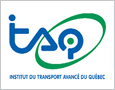 The logo of the Québec Advanced Transportation Institute