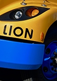 Photo of the eLion electric school bus