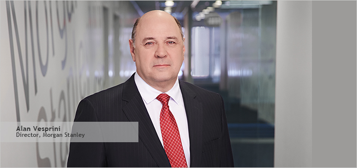 Photo d'Alan Vesprini, directeur de Morgan Stanley