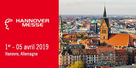 Hannover Messe. 1er au 5 avril 2019