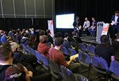 Photo prise au Sommet international du jeu de Montréal 2018