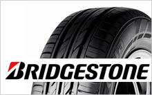 Logo of Bridgestone and tire