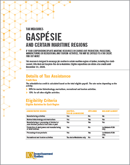 PDF document Gaspésie and Maritime Regions