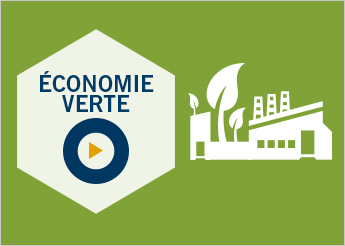 Illustration vectorielle : Économie verte