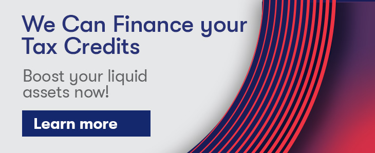 We can finance your tax credits. See our product.