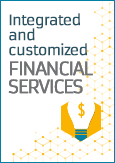 Integrated and customized financial services