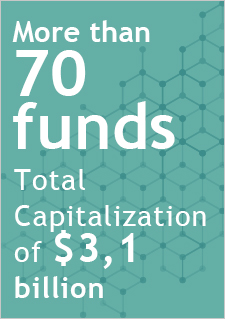 More than 70 funds - Total capitalization of $3.1 billion.