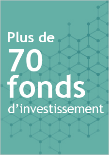 Plus de 70 fonds d'investissement