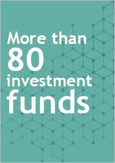 More than 80 investment funds