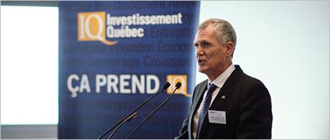 Allocution de Pierre Gabriel Côté, PDG d'Investissement Québec