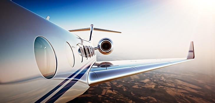 Photo d'un avion