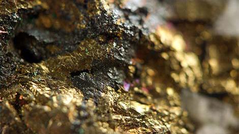 Photo d'un minerai