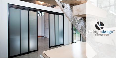 Portes haut de gamme fabriquées par Inter Fonction