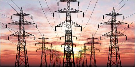 Photo de pylônes électriques