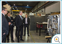 Photo de la visite de l'entreprise Rocand
