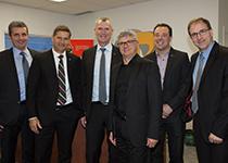 Photo de l'équipe d'Investissement Québec chez Rocand