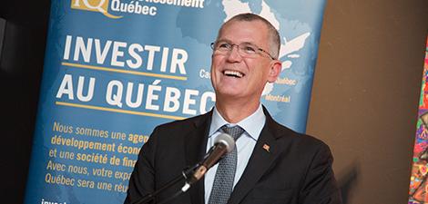 Photo de la tournée de Pierre Gabriel Côté à Québec