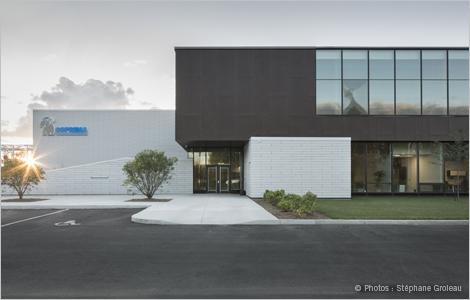 Photo de la nouvelle usine de Soprema