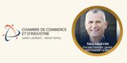 Photo du Centre des congrès de Montréal et texte indiquant « Salon sur les meilleures pratiques d'affaires, 25e  - Inscrivez-vous, 16 novembre 2017, Palais des congrès de Montréal »