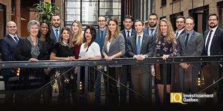 Photo des équipes Capital de risque et Fonds d'investissement