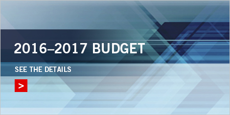 Image indicating 2016-2017 Budget. See the details.