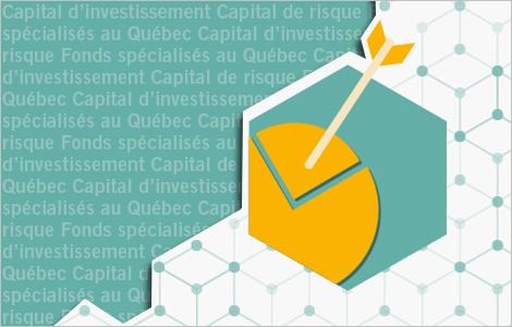 Illustration qui représente la part du capital d'investissement dans l'offre de financement  aux entreprises du Québec