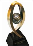 Photo du trophée des Grands Prix québécois de la qualité