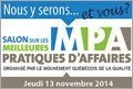 Logo du Salon MPA 2014
