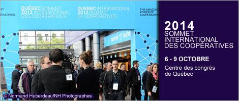 Image d'un précédent Sommet international des coopératives