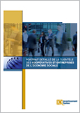 Illustration de la couverture du document Portrait détaillé de la clientèle des coopératives et entreprises de l'économie sociale