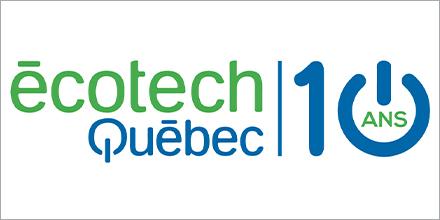 Logo d'Écotech Québec - 10 ans
