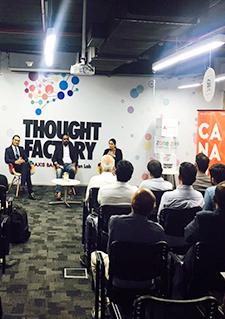 Photo de participants au concours Next Big Idea