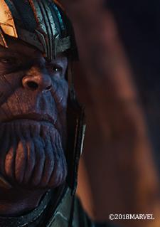 Scène du film Avengers Infinity War