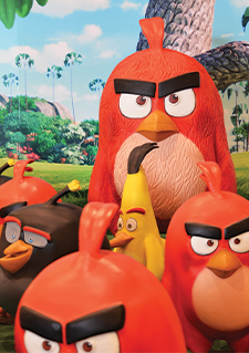 Image taken from the Angry Birds video game
